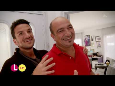 Peter Andre At The Cancer Awareness Roadshow | Lorraine