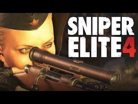 Sniper Elite 4, RK CLAN Анка пулеметчица