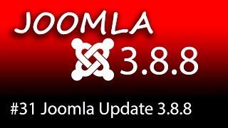 Joomla Update auf 3.8.8 Nachinstallationshinweise beachten! - [1080p HD]
