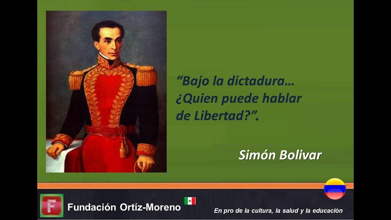 Frases De Grandes Personajes Bolívar 01