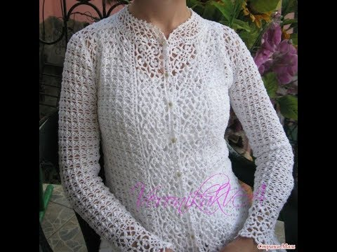 Crochet Patterns For Lacy Crochet Cardigan Pattern 2409 Youtube