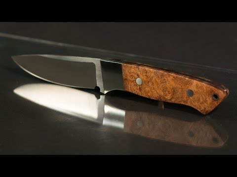 How To Make A Hunting Knife - Part 1