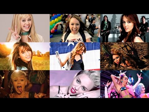 The movement from Hannah to Miley 23 - Miley Cyrus Evolution