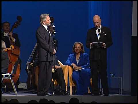 Davos Annual Meeting 2006 - Presentation of the Crystal Awards