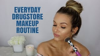 RECREATING ADRIENNE HOUGHTON'S EVERYDAY DRUGSTORE MAKEUP ROUTINE