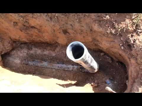 Plumbing Inspection - Bored Sanitary Sewer Line