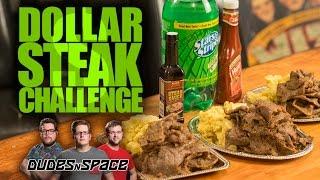 $1 Steak Challenge - Dudes N Space Eats 42oz Of Dollar Tree's Finest Sirloin