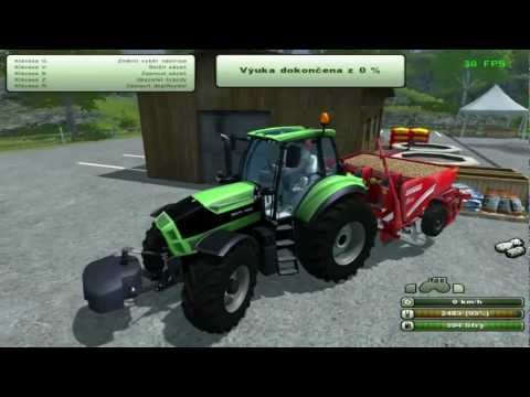 Farming Simulator 2013 | Planting Potatoes Training Mission 10