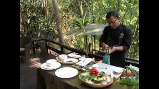 "Hot Raw Chef - Chef Made Runatha - Jicama Mushroom "" Sushi"" Roll"