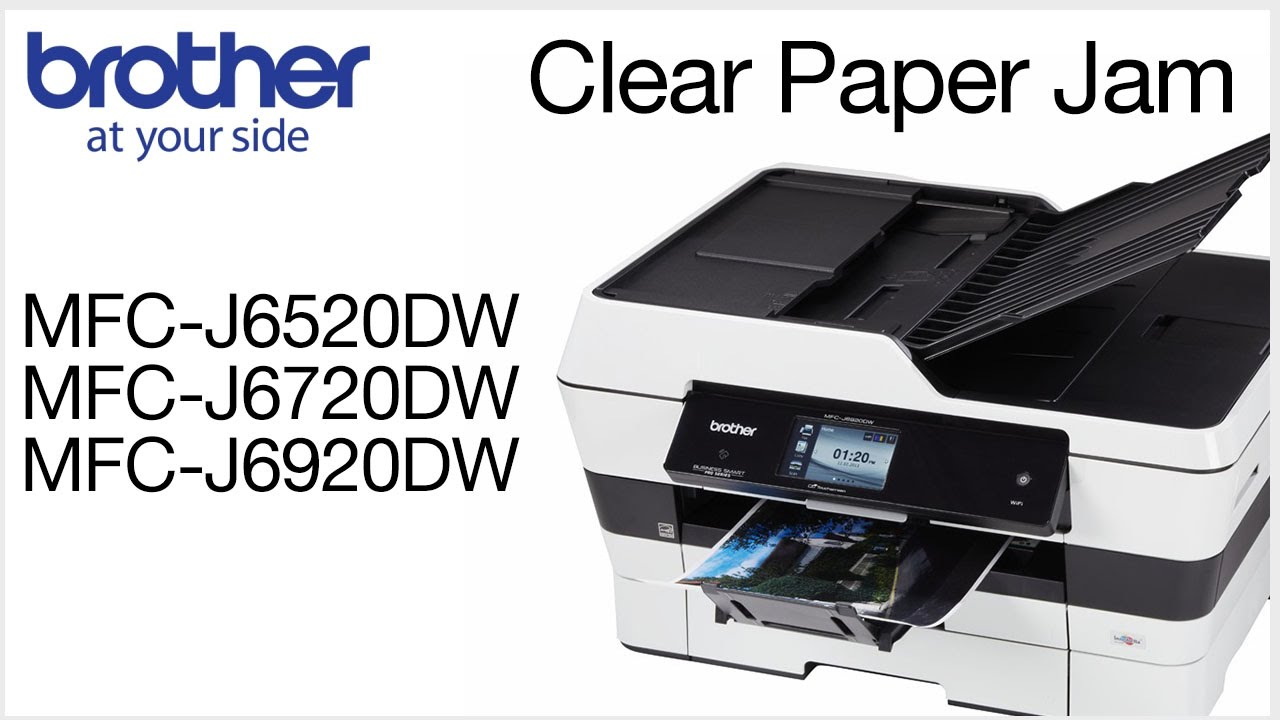 foto How to Clear a Paper Jam on an HP Inkjet Printer