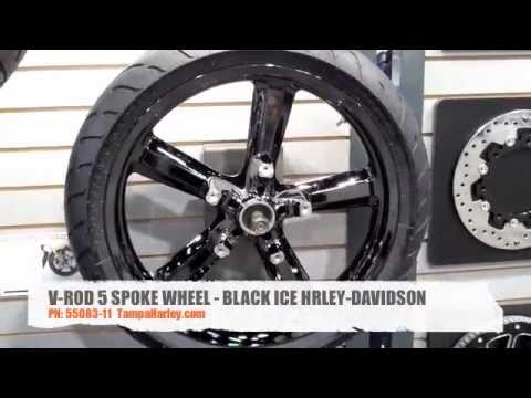 Harley Davidson Black Ice Rims