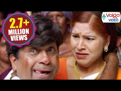 Brahmanandam And Kovai Sarala Comedy Scenes | Volga Videos