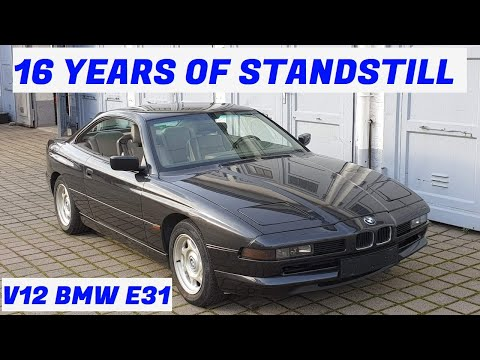 Watch a V-12 BMW 8-Series Come Back to Life After Sitting for 16 Years