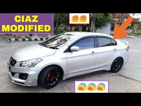 Top 5 CIAZ Modifications You MUST SEE YouTube