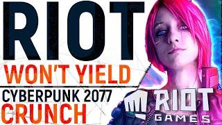 Riot DISREGARD Core of Staff Walkout, CDPR Address Cyberpunk 2077 Work Conditions & Capcom BEATS EA