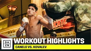 HIGHLIGHTS | Canelo vs. Kovalev Public Workouts