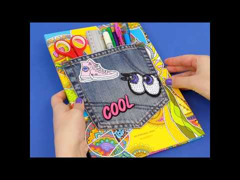 DIY Amazing School Supplies | 5 Crafts For School and Fun For 5 Minutes