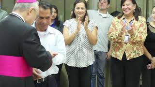 Monseñor Edgar Peña visitó PANORAMA