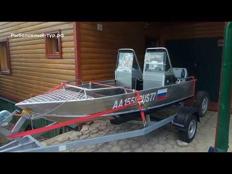 Обзор лодки Вятбот 390 (Wyatboat)