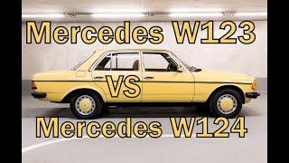 видео: Mercedes w123 Каков он? В Сравнении с Mercedes w124