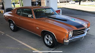 Test Drive 1972 Chevelle $24,00 Maple Motors