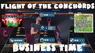 Flight of the Conchords - Business Time - Rock Band 4 DLC Expert Full Band (October 4th, 2018)