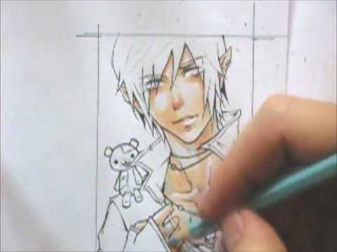 copic marker tutorial how i color skin - Skin Color Markers