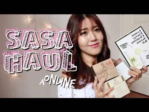 Sasa Online Beauty Haul | thatxxRin
