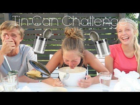 Tin Can Challenge!