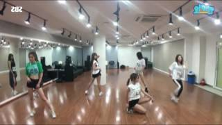 mirrored dance practice 5w1h ultra dance festival mina seulgi yooa eunjin euijin mijoo