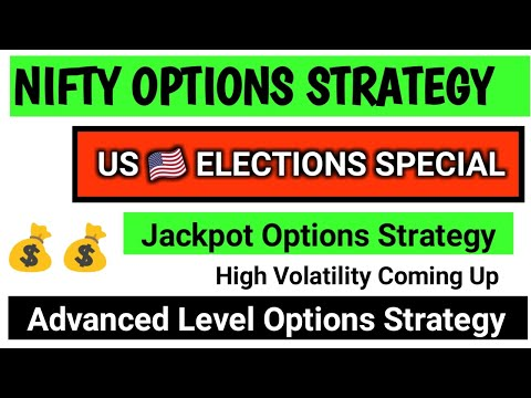 NIFTY OPTIONS STRATEGY FOR US  ELECTIONS | ZERO LOSS OPTIONS STRATEGY | NIFTY HEDGING STRATEGY