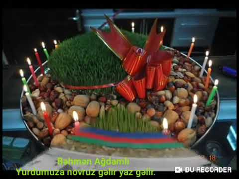 #vatcapvideolari #statusvideolari Behmen Agdamli novruz bayrami tebriki vatcap status videolari 2020