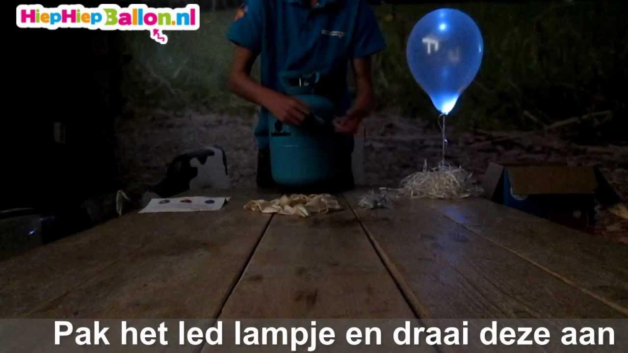 Led ballonnen - YouTube