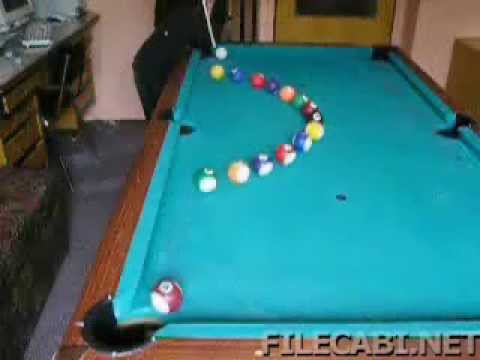 Cool trick pool shots youtube - Awesome swimming pool trick shots ...