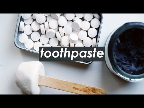 4 ZERO WASTE TOOTHPASTES // My Honest Opinions