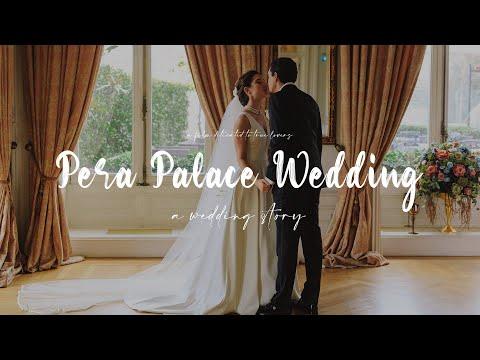 Pera Palace'ta gerçekleşen harika bir düğünün hikayesi.