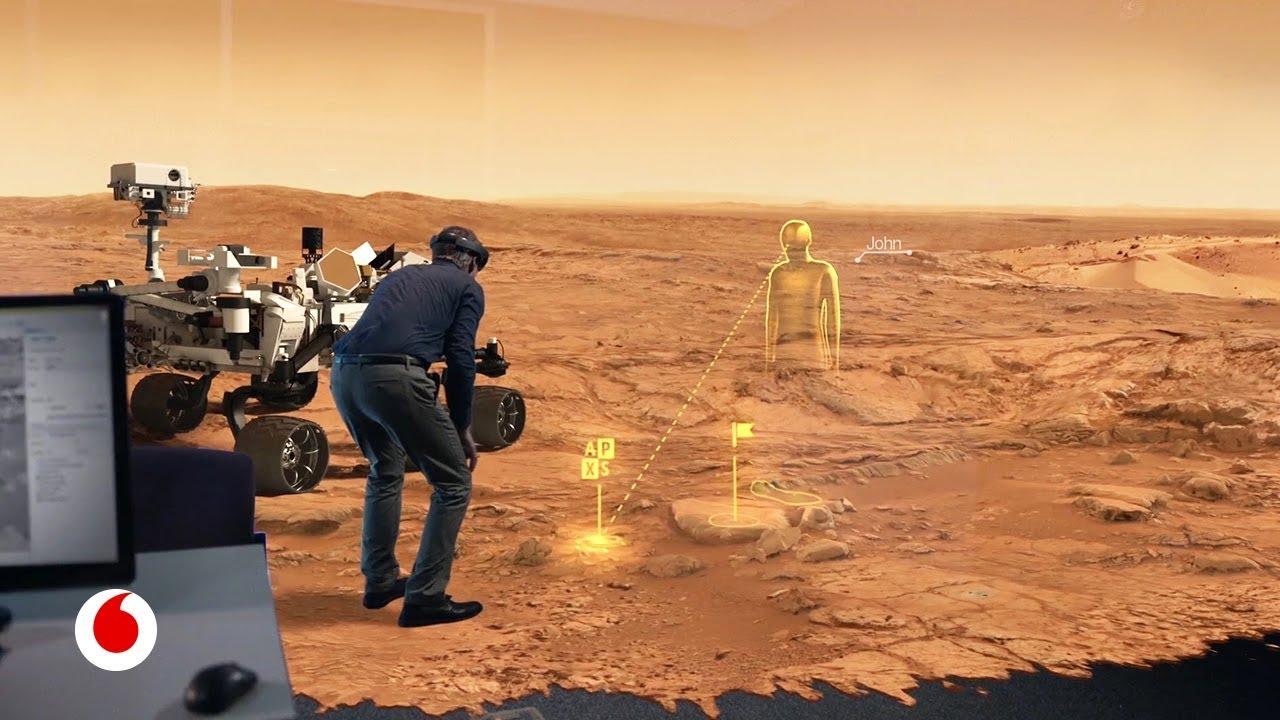 La alucinante realidad virtual que nos permite pasear por Marte