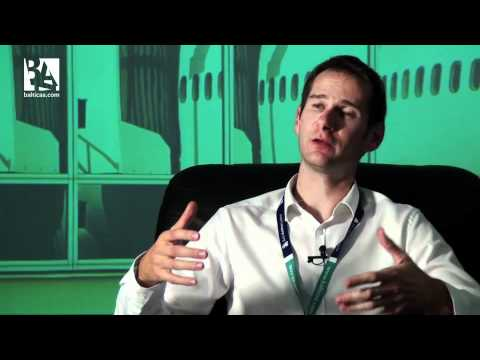 Baltic Aviation Academy interviews upcoming B737 pilot  from France.