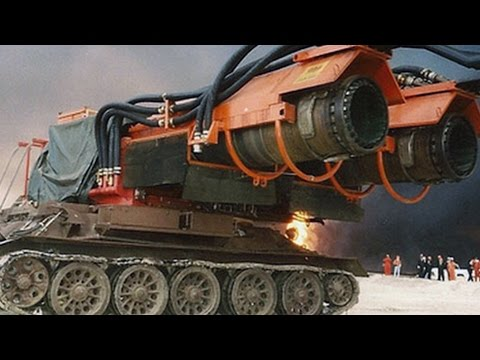World's BIGGEST (and most powerful)  FIRE ENGINE TRUCK ever built! (JET POWERED!)