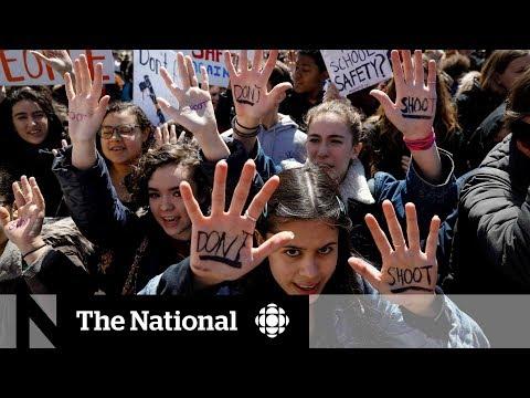 Students hold walkouts on Columbine High School massacre anniversary