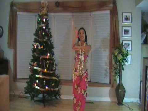 """Christmas Island"" Hawaiian clip"