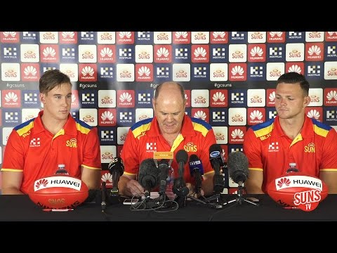 Lynch/Eade/May Press Conference