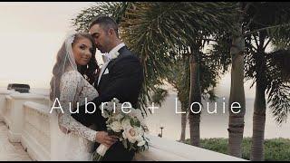 Aubrie + Louie Wedding Video | Tarpon Springs, Florida | Private Residence