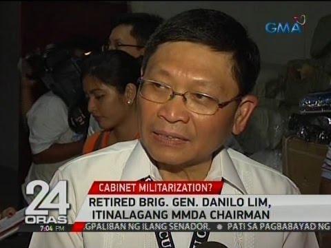 24 Oras: Retired Brig. Gen. Danilo Lim, itinalagang MMDA chairman