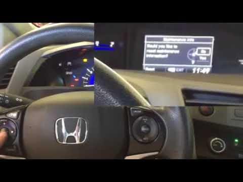Reset Service B1 Honda Civic Youtube