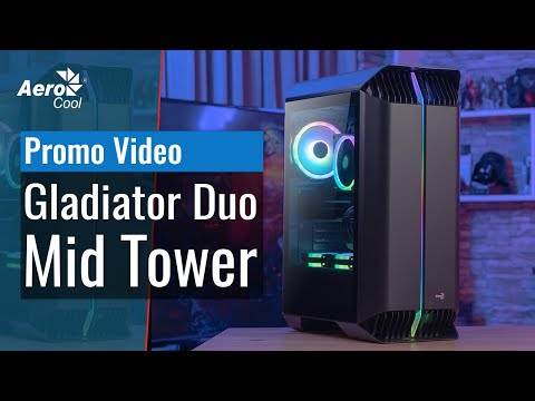 Gladiator Duo Mid Tower Case - Case Promo Video