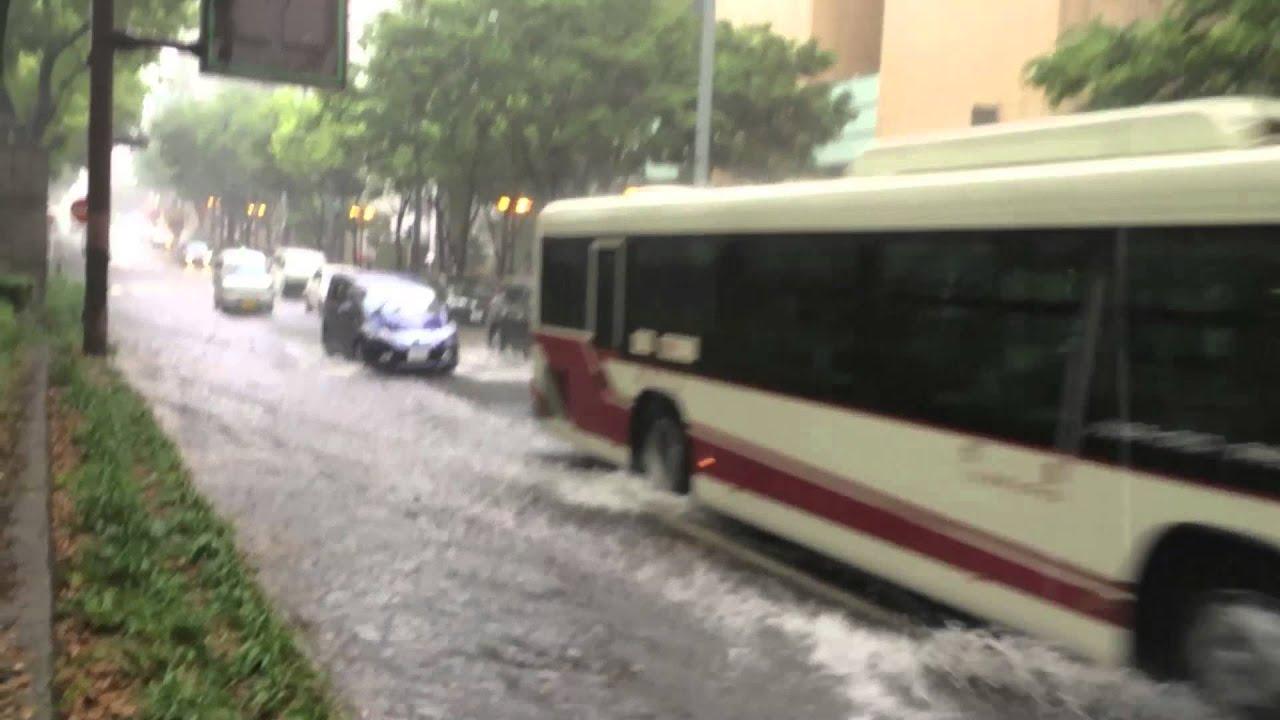 Japanese Street Rain Mystery 洪水! Flood!