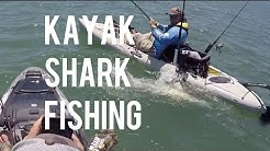 Kayak Fishing for Sharks - Jacksonville, Florida - PART 1