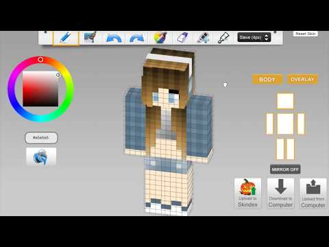 Skindex Minecraft Skin Cute Girl With Headphone