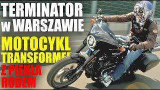 Harley Davidson Sport Glide: Motocykl Transformer i szczęśliwa Pupa Barrego